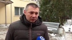 Украинского полицейского, избившего активистов С14, выпустили под залог