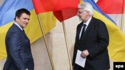 Министры иностранных дел Украины и Польши Павел Климкин и Витольд Ващиковский