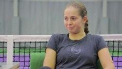 Алена Остапенко – о спортивных амбициях
