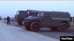 Автомобиль, принадлежащий УФСИН России по Чеченской республике