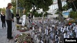 """Памятник """"Небесной сотне"""" в Киеве"""