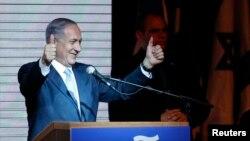 Премьер-министр Биньямин Нетаньяху. 18 марта 2015