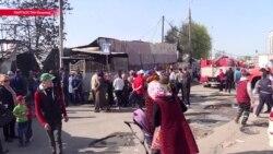 В Бишкеке опять горел Ошский базар