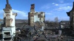 В Забайкалье жители уничтоженных огнем сел ждут компенсаций
