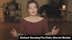 In a June 10, 2021 YouTube video, Maria Pevchikh, the Anti-Corruption Foundation's chief investigator, presents fresh evidence about the August 2020 poisoning attack on Russian opposition politician Aleksei Navalny.