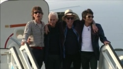 The Rolling Stones впервые приехали на Кубу