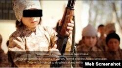 Казахские дети попали в Сирию вместе с родителями