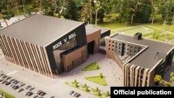 Центр акробатического рок-н-ролла в Жаворонках, проект