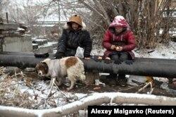 Бездомные в Омске, декабрь 2019 года. Фото: Reuters