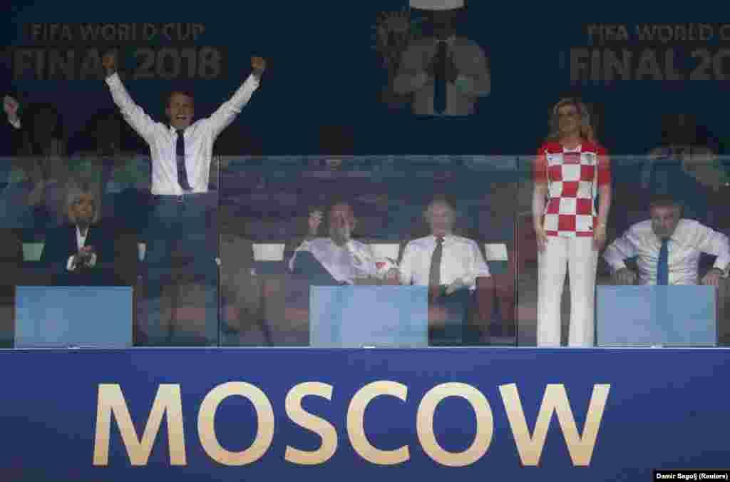 Президенты Фрации и Хорватии