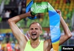 Александр Лесун на Олимпиаде в Рио-де-Жанейро, Бразилия. 2016 год. Фото: Reuters