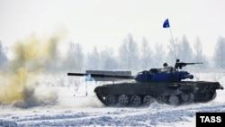 Учения российской армии в Хабаровске