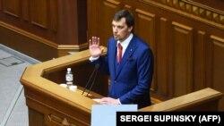 Новый премьер-министр Украины Алексей Гончарук