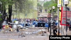 Греческая площадь в Одессе 2 мая 2014 года