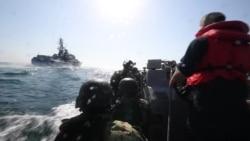 """Учения """"Си Бриз – 2019"""" на борту американского эсминца """"Карни"""""""