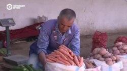 В Таджикистане в несколько раз подорожала морковь