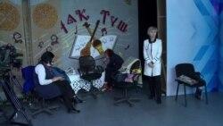 Учителя в Бишкеке записывают видеоуроки
