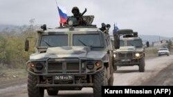 Российские военные в Карабахе
