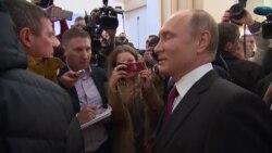 Как голосовали Путин, Жириновский и другие кандидаты в президенты
