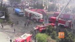 Бакинские власти ищут виновных в пожаре на проспекте Азадлыг