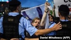 Протесты против увольнения Кьовеши в Румынии