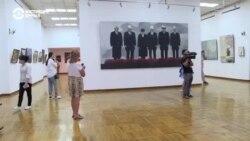 """Кыргызстанские соцсети взорвала картина с выставки """"Новый соцреализм"""""""