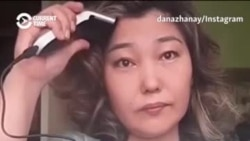Kazakh Women Shave Heads To Demand Political Freedom And Democracy