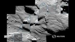 """Зонд """"Филы"""" вышел на связь с поверхности кометы Чурюмова-Герасименко"""