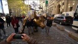 """С Бродвея в Нью-Йорке хотят убрать скульптуру """"Атакующего быка"""""""
