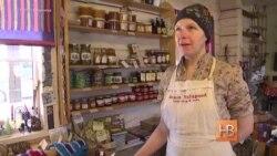 На эстонском острове Сааремаа торгуют местными деликатесами