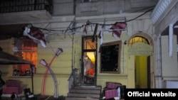 """Взрыв в ресторане """"У Ангеловых"""" в Одессе"""