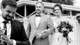 Фотоколлаж: Анатолий Чепига (слева), один из главных подозреваемых по делу об отравлении Сергея Скрипаля, и генерал-майор Андрей Аверьянов на свадьбе его дочери в 2017 году.