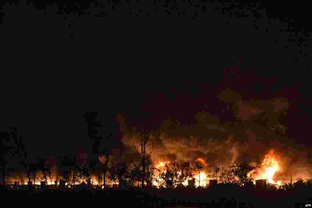 В результате взрыва погибли 44 человека, среди них 12 пожарных, ранены 520, состояние 66 человек оценивается как тяжелое