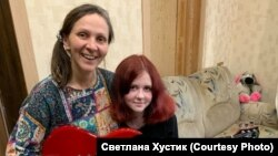 Алена и Ольга Прокудины