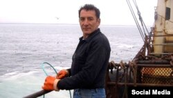 """Фарит Хасанов, один из пропавшихбез вести моряков траулера """"Дальний"""