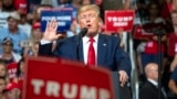 Дональд Трамп объявил о начале новой предвыборной кампании