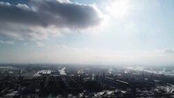 """Неизвестная Россия: """"черное небо"""" над Красноярском"""