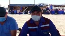 В Мангистау бастуют нефтяники: требуют повысить зарплату и создать профсоюз