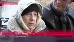 Лейла Юнус читает стихи Тютчева после выхода из тюрьмы
