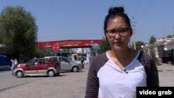 Корреспондент Настоящего Времени на КПП на границе Узбекистана и Кыргызстана
