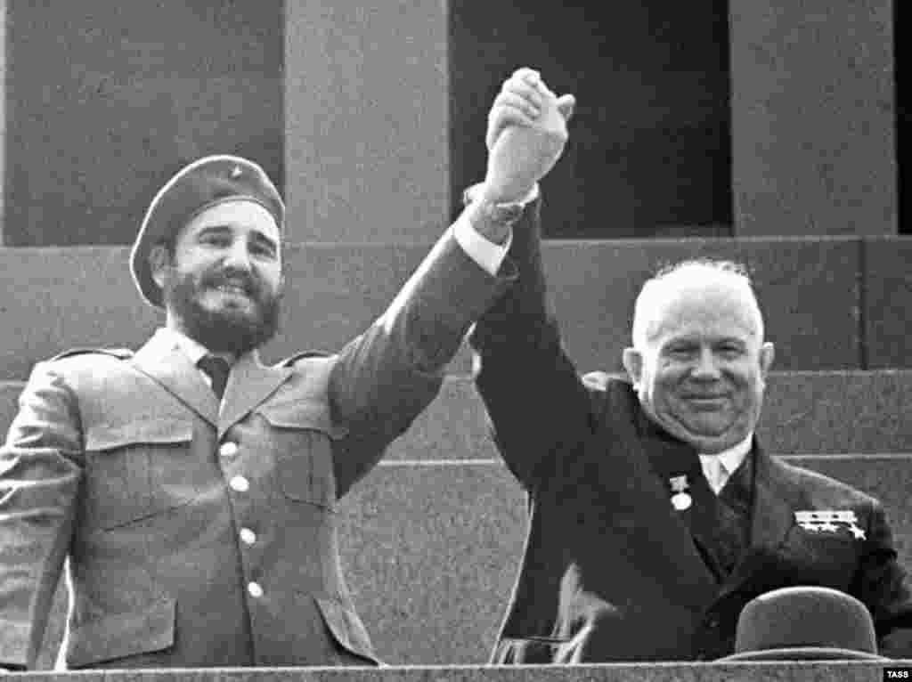 С Никитой Хрущевым, 1962 год