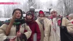 Рождественская ярмарка во Львове