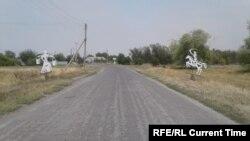 Въезд в хутор Чебачий
