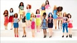 Куклы Барби стали больше походить на настоящих людей
