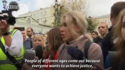 Sobol At Moscow Protest: 'Repression Will Not Work'