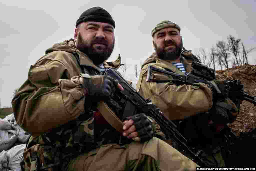"""Близнецы-бойцы """"Азова"""", 18 апреля 2015"""