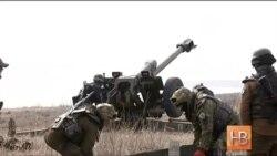 """Бойцы """"Азова"""" проводят учения под Мариуполем"""
