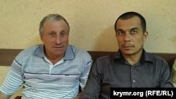 Курбединов с Михаилом Семеной