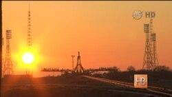 """Байконур готовится к запуску корабля """"Союз"""""""
