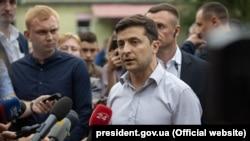 Ukrainian President Volodymyr Zelenskiy